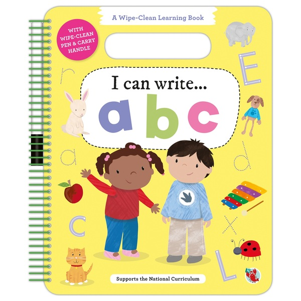 Wipe Clean Learning Book: ABC
