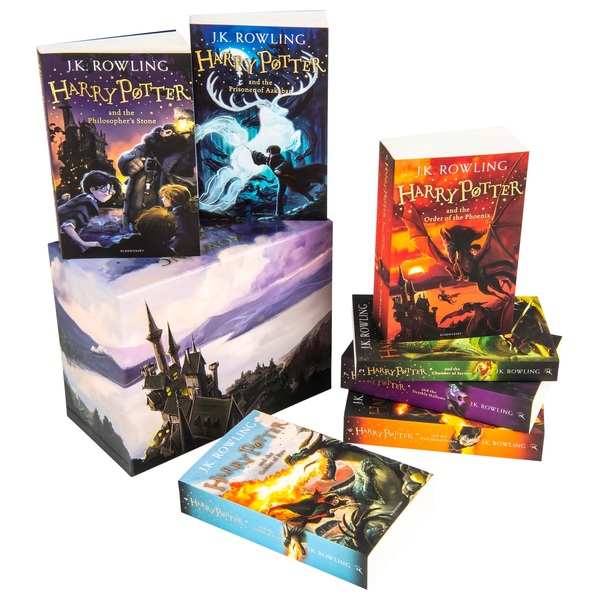 Harry Potter The Complete Book Collection