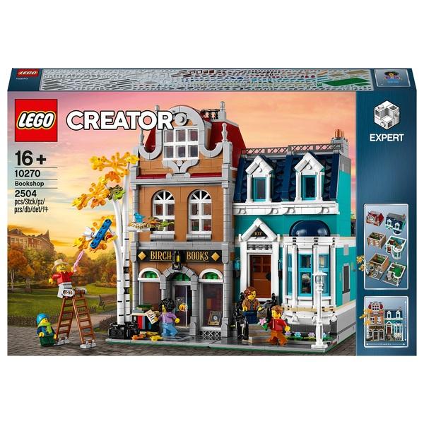 LEGO 10270 Creator Expert Bookshop Construction Set