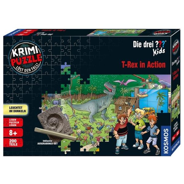 Ausgefallenkreatives - Krimipuzzle Kids Dinos 200 Teile - Onlineshop Smyths Toys