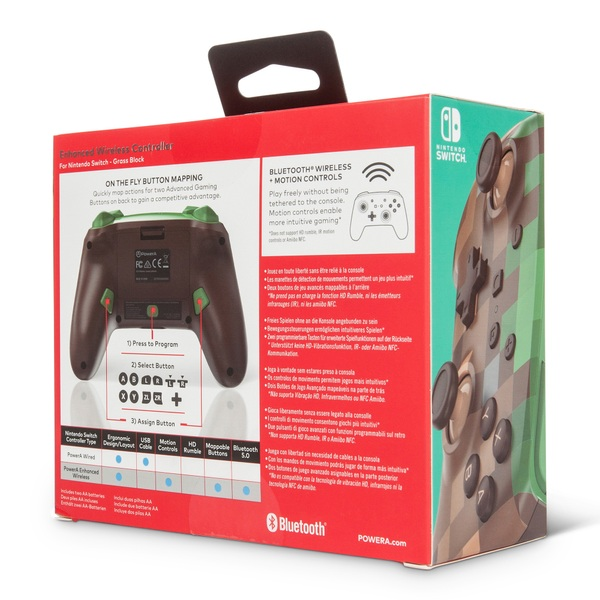 Minecraft Wireless Controller for Nintendo Switch - Smyths Toys UK