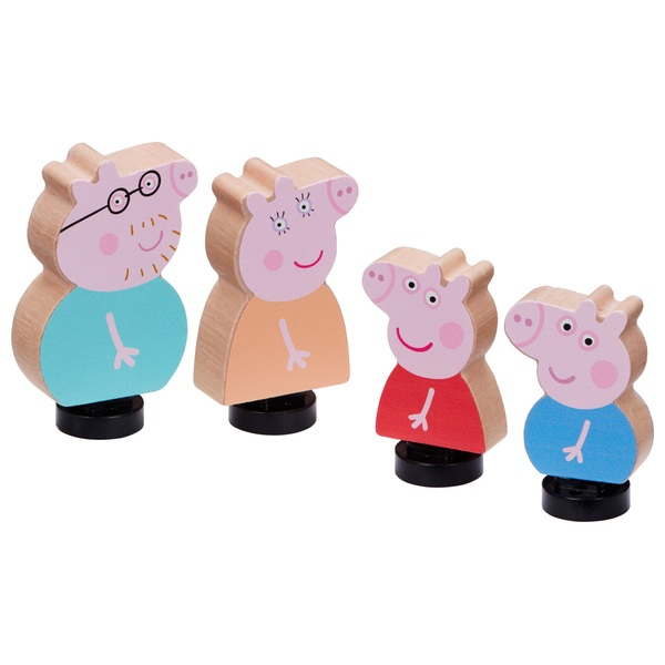 Peppa Pig's Wooden Family Figure Pack