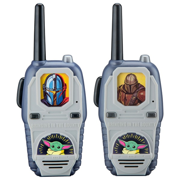 Star Wars The Mandalorian Lights and Sounds Walkie Talkies