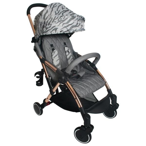 My Babiie Samantha Faiers MBX4 Rose Gold Grey Tiger Ultra Light Stroller