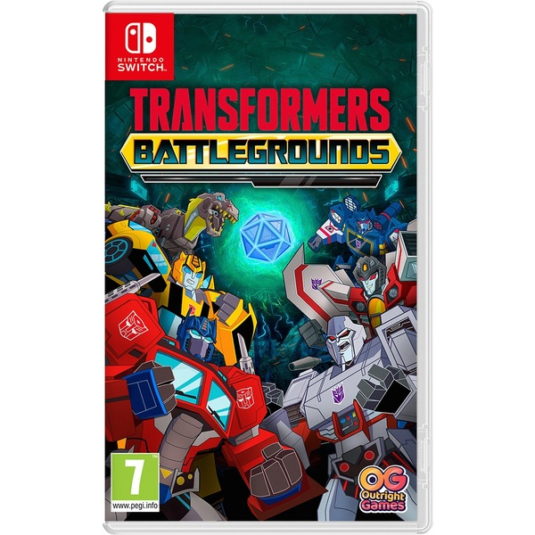Transformers: Battlegrounds Nintendo Switch