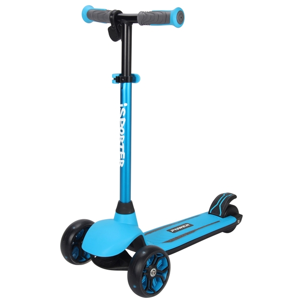 iSporter Power 2 in 1 Blue Anodised Scooter