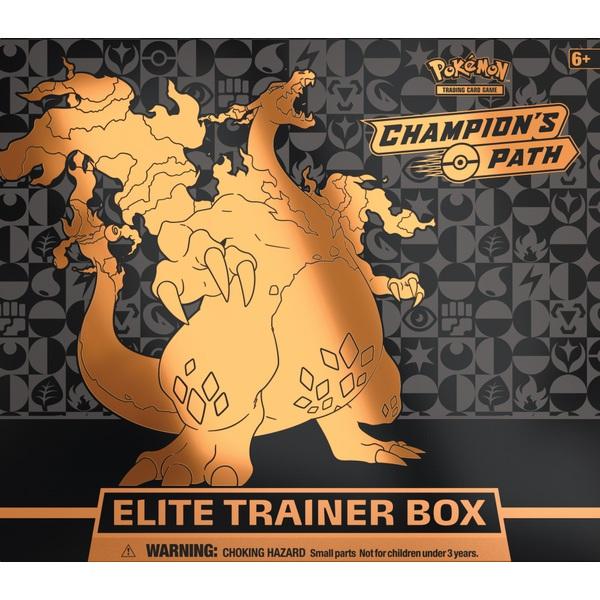 Pokémon Trading Card Game Champion's Path Elite Trainer Box