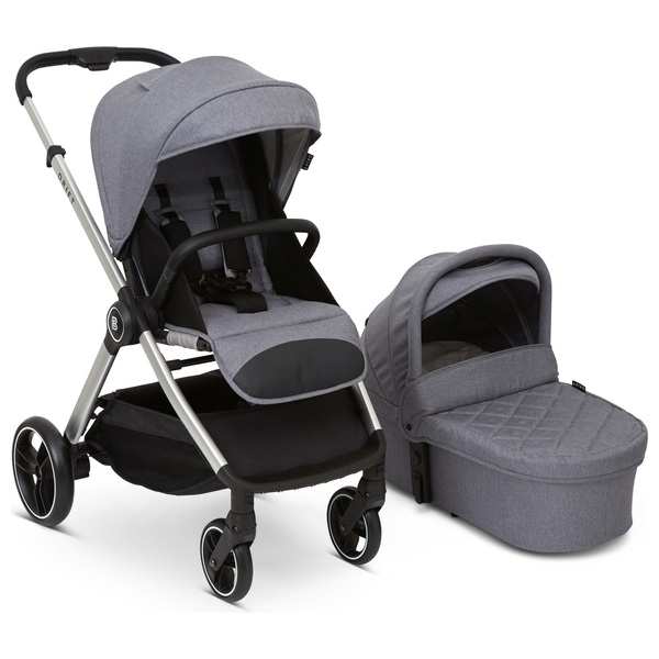 Drift by Baby Elegance 3 in 1 Travel System Silver