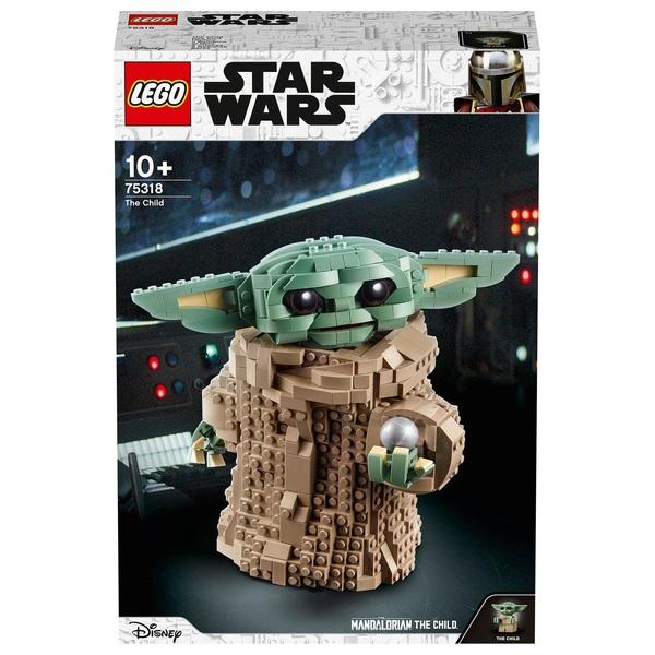 "LEGO 75318 Star Wars: The Mandalorian The Child ""Baby Yoda"" Building Set"