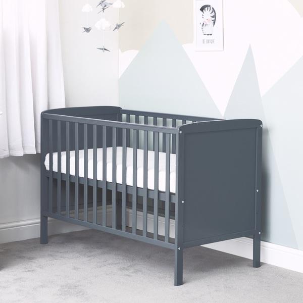 Baby Elegance Elle Cot Grey