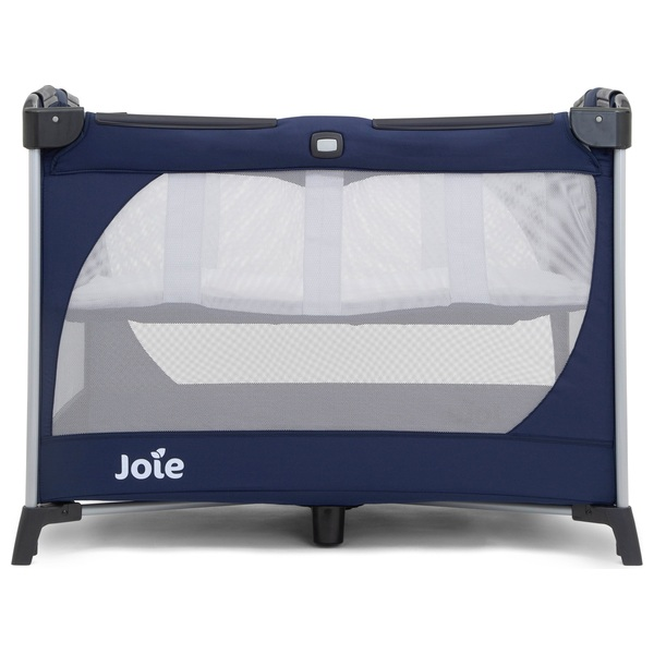 Joie Allura Navy Travel Cot with Bassinet