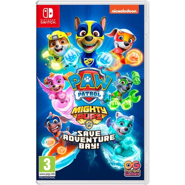PAW Patrol Mighty Pups Save Adventure Bay Nintendo Switch