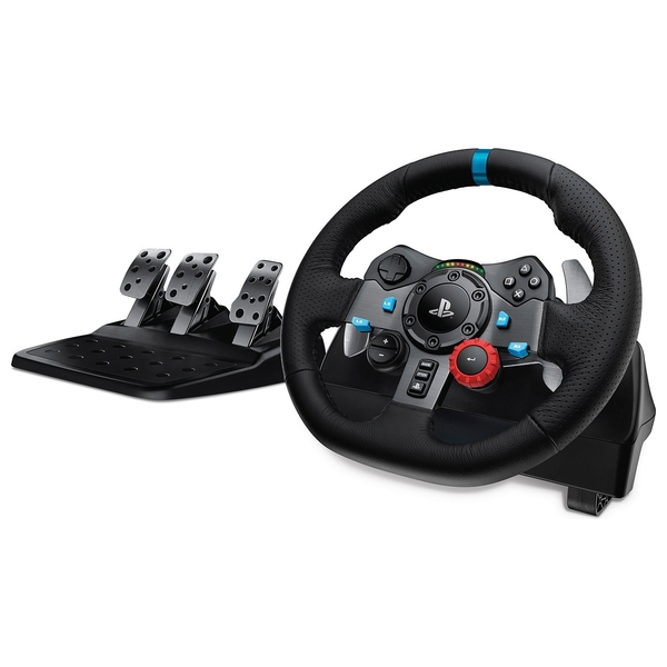 Logitech G29 Driving Force Racing Wheel for PlayStation4 and PC