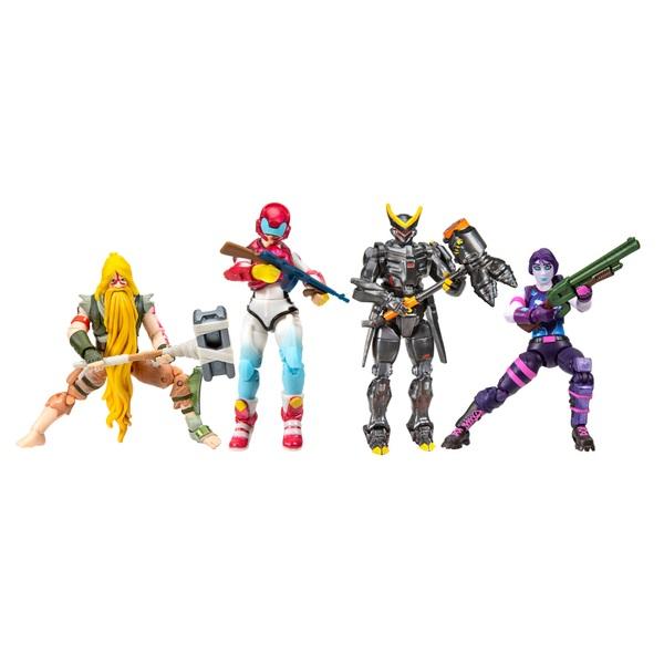 Fortnite Squad Mode 4-Figure Pack Future Squad Series 3