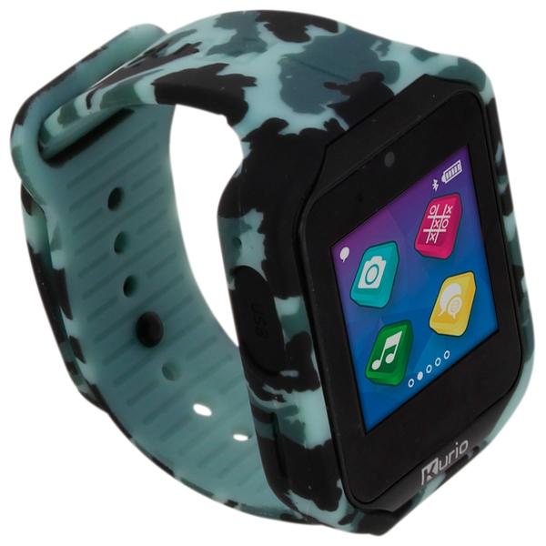 Kurio Watch 2.0 + Camo and Purple Strap