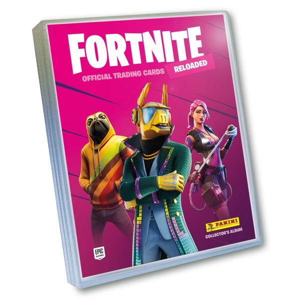 Fortnite Reloaded Trading Card Collection Starter Pack