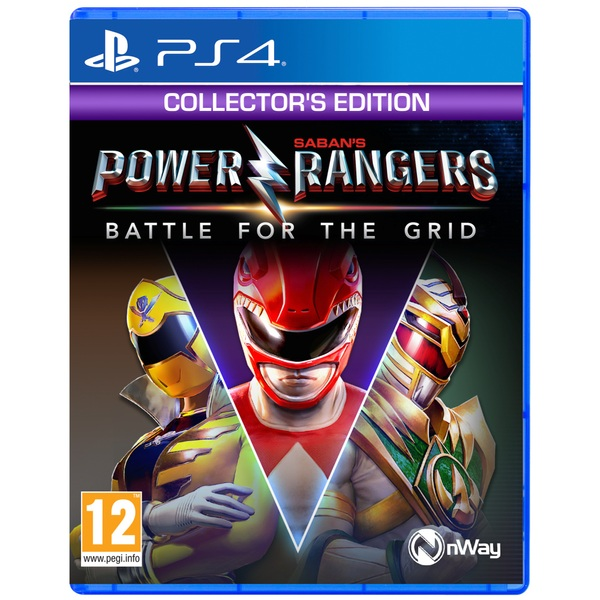 Power Rangers: Battle for the Grid: Collector's Edition PS4