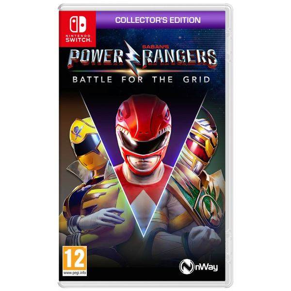 Power Rangers: Battle for the Grid: Collector's Edition Nintendo Switch