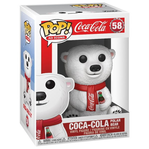 POP Vinyl: Ad Icons Coca-Cola Polar Bear