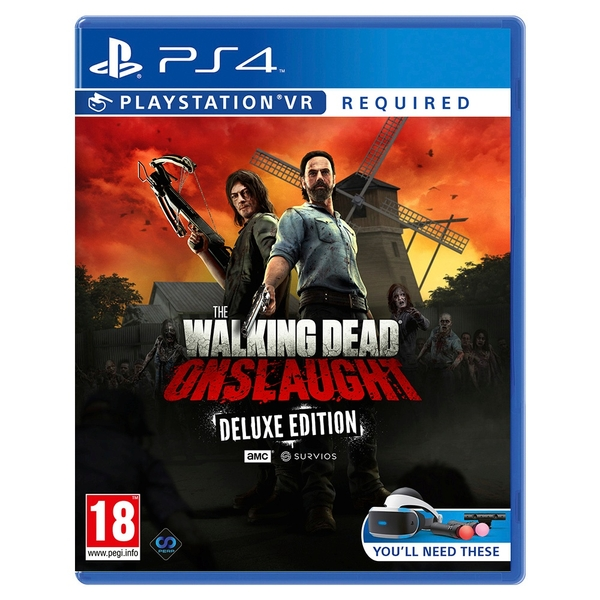 The Walking Dead Onslaught PSVR The Golden Weapons Deluxe Pack
