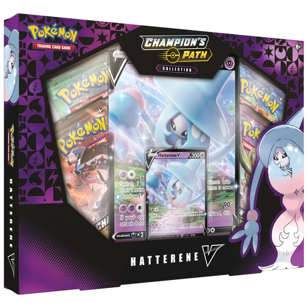 Pokémon Trading Card Game: Champion's Path Collection - Hatterene V