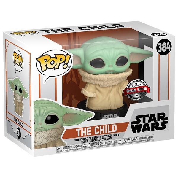"POP! Vinyl: Star Wars Mandalorian The Child  ""Baby Yoda"" Concerned"