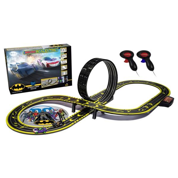 Micro Scalextric Batman vs Joker Race Set