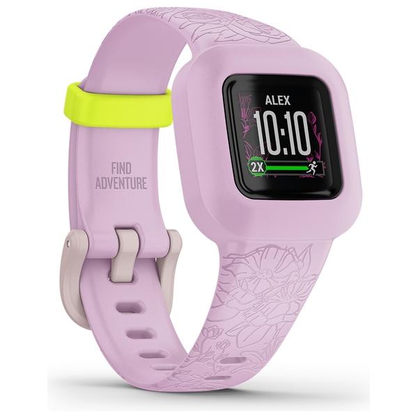 Garmin Vivofit Jr 3 - Lilac Floral Fitness Tracker for Kids