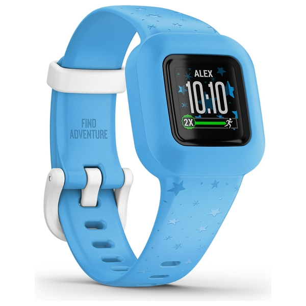 Garmin Vivofit Jr 3 - Blue Stars Fitness Tracker for Kids
