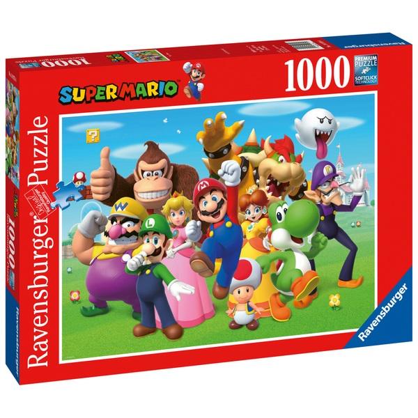 Ausgefallenkreatives - Ravensburger Puzzle Super Mario 1000 Teile - Onlineshop Smyths Toys