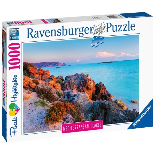 Ausgefallenkreatives - Ravensburger Puzzle Mediterranean Greece 1000 Teile - Onlineshop Smyths Toys