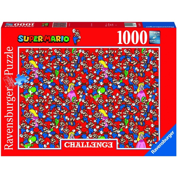 Ausgefallenkreatives - Ravensburger Puzzle Super Mario Bros challenge 1000 Teile - Onlineshop Smyths Toys