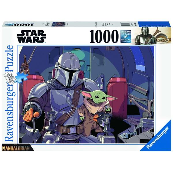 Ausgefallenkreatives - Ravensburger Puzzle Star Wars The Mandalorian 1000 Teile - Onlineshop Smyths Toys
