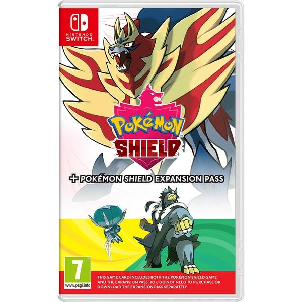 Pokemon Shield + Expansion Pass Nintendo Switch
