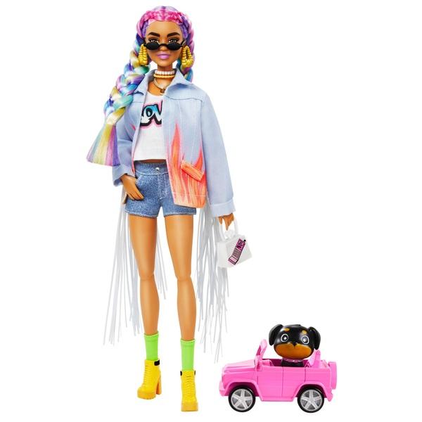 Super Mario Brothers Barbie Doll  Fashionista  Faux Denim Jean Jacket Mattel