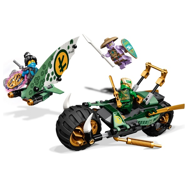 LEGO 71745 NINJAGO Lloyd's Jungle Chopper Bike Motorbike ...