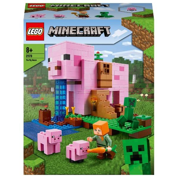 Lego Minecraft The Pig House Building Set 21170