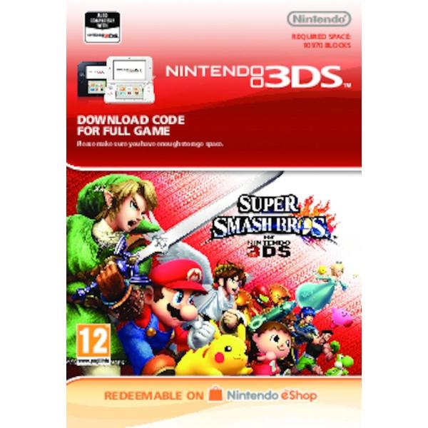 Super Smash Bros  - Nintendo 3DS (Digital Download) - Nintendo Digital  Downloads Ireland