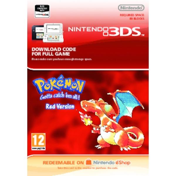 Pokémon Red - Nintendo 3DS (Digital Download)