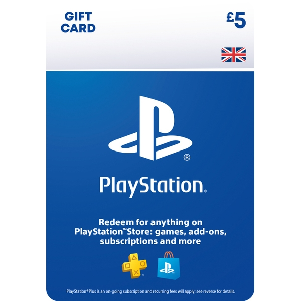 PlayStation® Wallet Top-up: £5.00 GBP