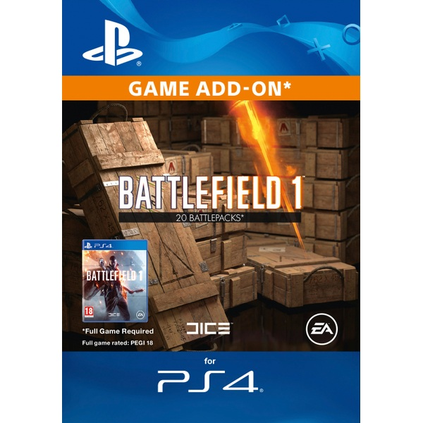 Battlefield 1 Battlepacks x20 Digital Download