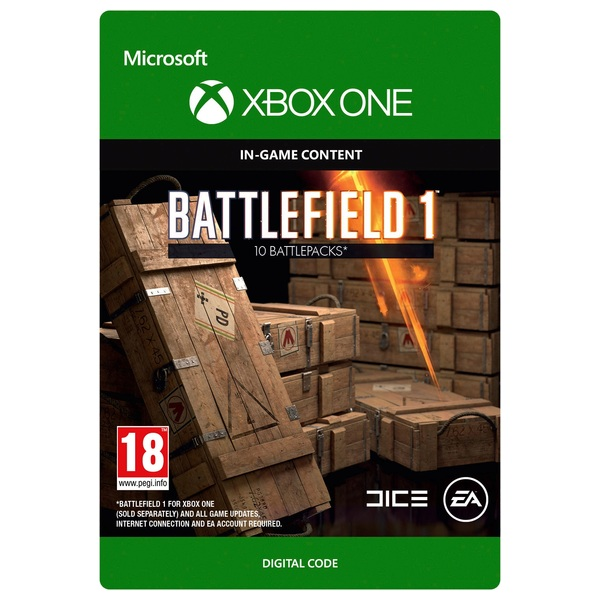 Battlefield 1 Battlepacks x10 Digital Download