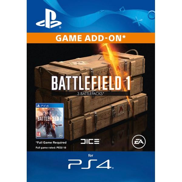 Battlefield 1 Battlepacks x3 Digital Download
