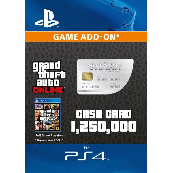 GTA V: Great White Shark Cash Card Digital Download