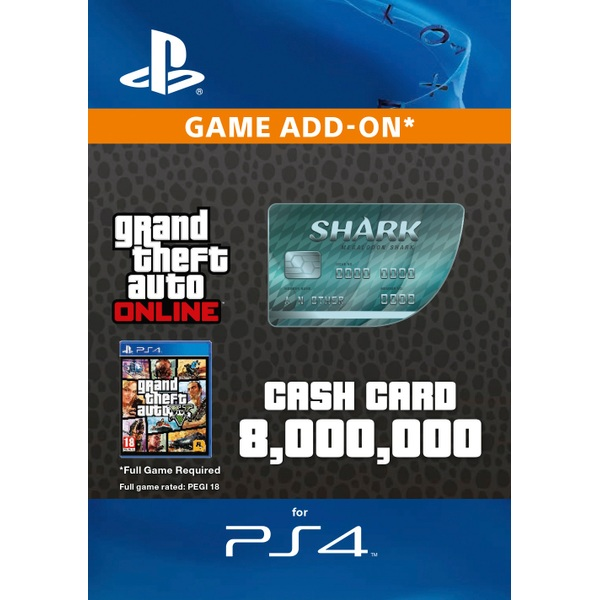 GTA V: Megalodon Shark Cash Card Digital Download