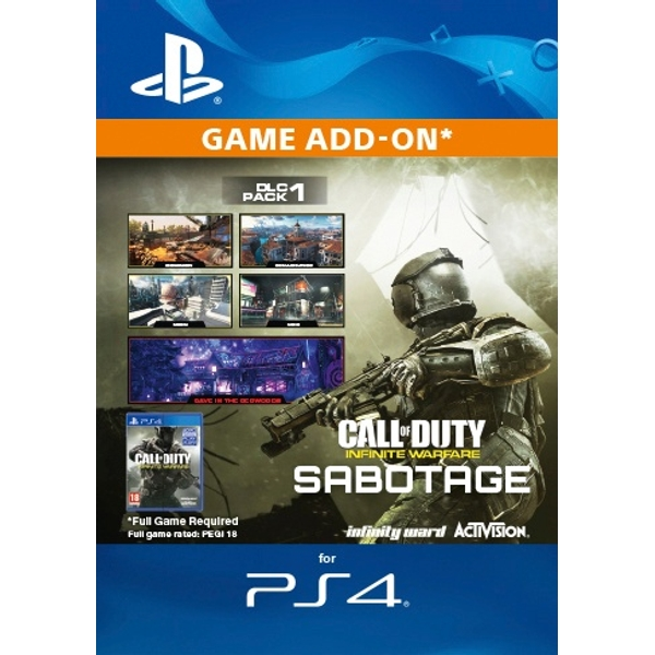 Call of Duty: Infinite Warfare DLC - Sabotage Digital Download