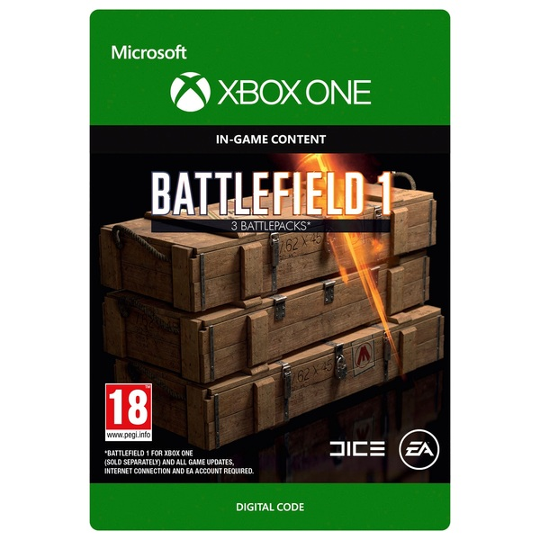Battlefield 1 Battlepacks x3 Digital Download