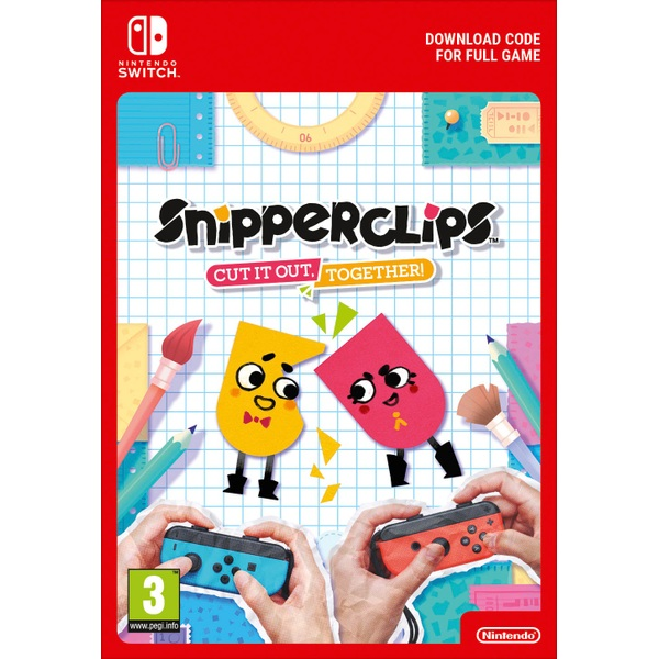 Snipperclips - Cut it out, together! Digital Download
