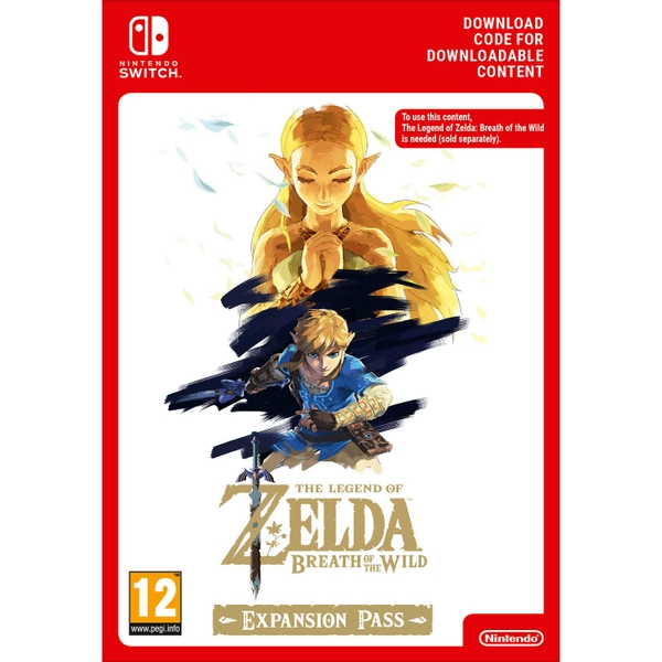 Legend of Zelda: Breath of the Wild Expansion Pass Switch Digital Download