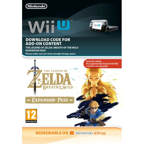 Legend of Zelda: Breath of the Wild Wii U Expansion Pass Digital Download